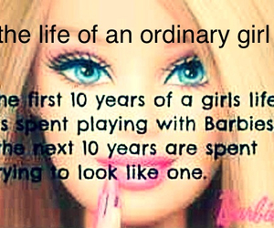 barbie and girl image
