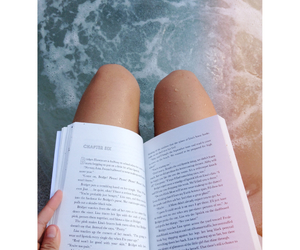 book, summer, and read image