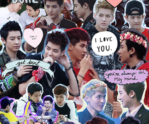 exo, exo k, and park chanyeol image