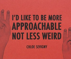 Chloe Sevigny, quote, and weird image