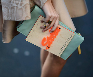 fashion, street style, and teal image