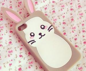 iphone, case, and bunny image