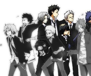 anime and katekyo hitman reborn image