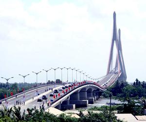 bridge, photography, and Vietnam image