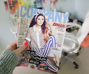 magazine and quality image