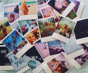 summer, polaroid, and friends image