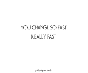 change, fast, and heart image
