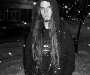 b&w, snow, and black & white image