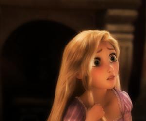 rapunzel, tangled, and blonde image