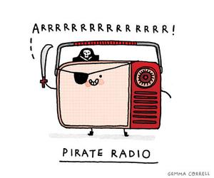 radio and pirate image