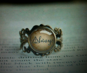 always, amor, and harry potter image