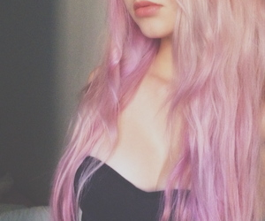 bubblegum, pink hair, and tumblr image