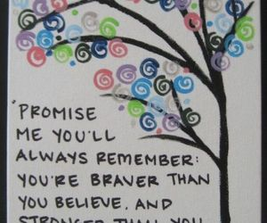 quote, winnie the pooh, and promise image
