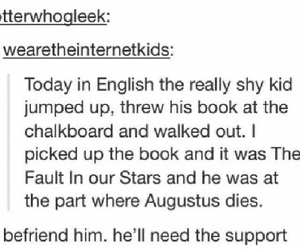 book, school, and shy image