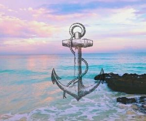 anchor, blue, and indie image
