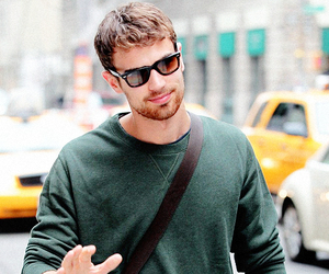theo james, boy, and divergent image