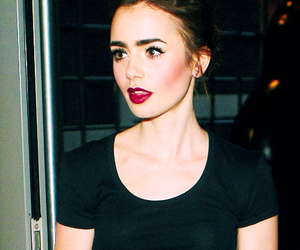 lily collins and the mortal instruments image