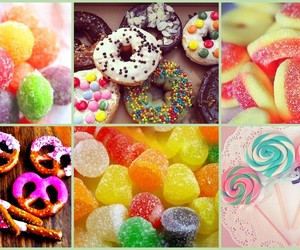 april, candy, and colorful image