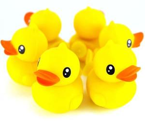 rubber duck, smartphone, and phone stand image