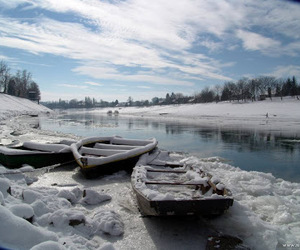 frozen, zagreb, and nature image