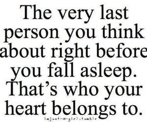 fall asleep, quotes, and Relationship image