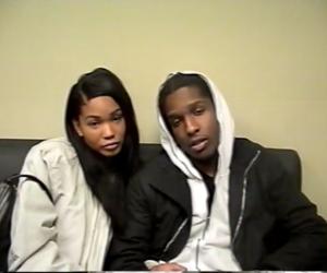 asap rocky, Chanel Iman, and couple image