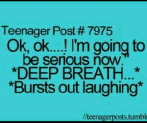 laughter and teenager post image