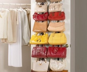bags, storage solution, and back-of-the-door image