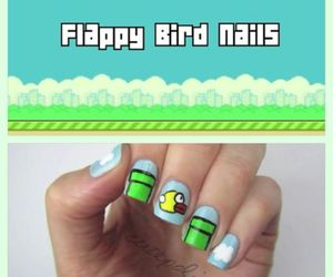 nails and flappy bird image
