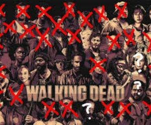 zombies, walking dead, and amc image