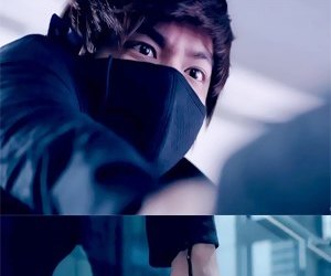 lee min ho, park min young, and city hunter image