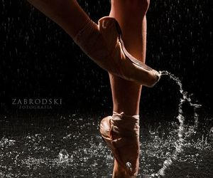 ballet, foot, and photography image