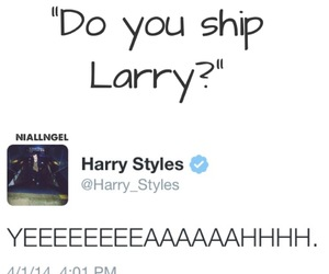twitter, larry, and louis tomlinson image