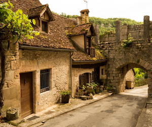 france, medievel, and rocamadour image