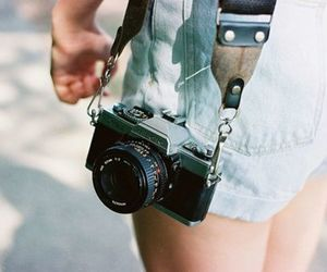 camera, photography, and girl image