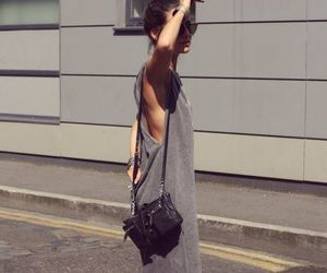 dress, simple, and street style image