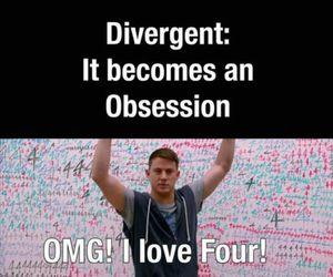 divergent, four, and tobias eaton image