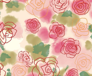 background, flower, and wall image