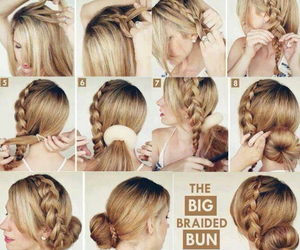 braid, everyday, and hair image