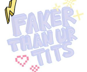 than, that, and faker image
