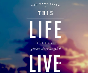 life, quote, and live image