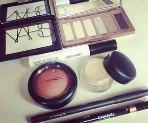 mac, chanel, and make up image