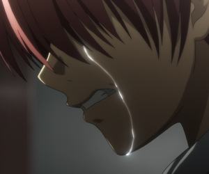 cry, anime, and angel beats image