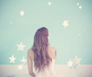 stars, girl, and photography image
