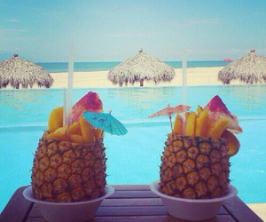 awesome, Hot, and pineapple image