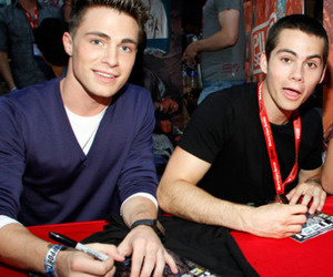colton haynes, teen wolf, and dylan o'brien image