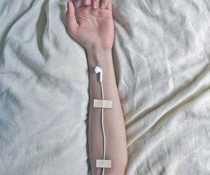 arm, hand, and grunge image