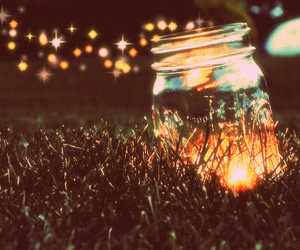 grass, light, and shine image
