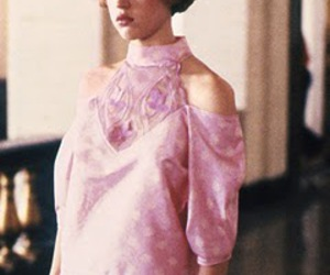 girl, pink, and Molly Ringwald image