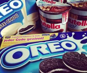 oreo, nutella, and food image